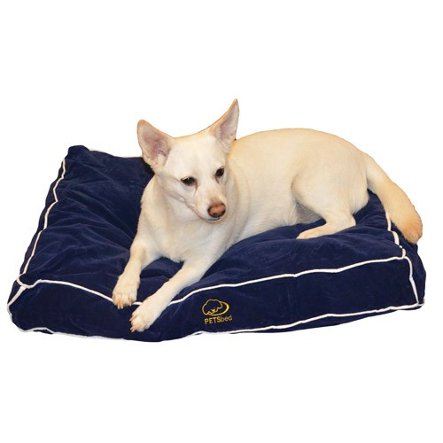 Blissful Blue Dog Bed