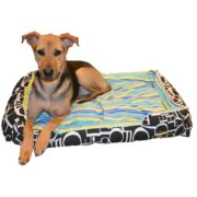 Simply Fabulous Dog Bed With Dog On It