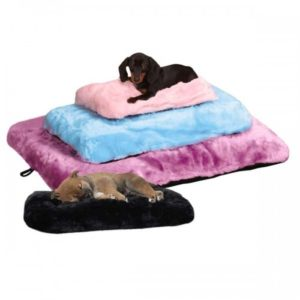 slumber pet cloud cushions dog bed with dogs