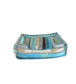 Striped Dog Bed